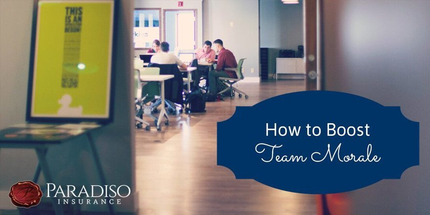 how to boost team morale
