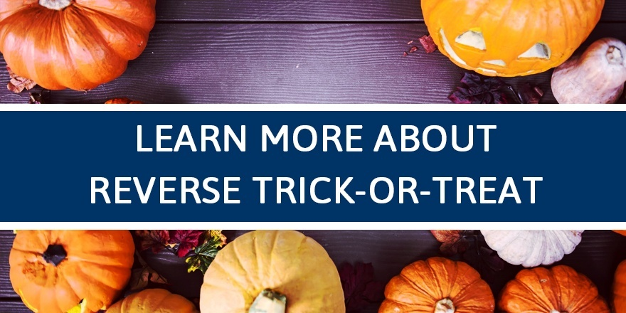learn about reverse trick or treat
