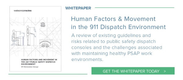 PSAP Whitepaper: Human Factors & Movement in the 911 Dispatch Environment
