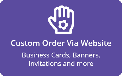 Add video to existing printed cards or designs