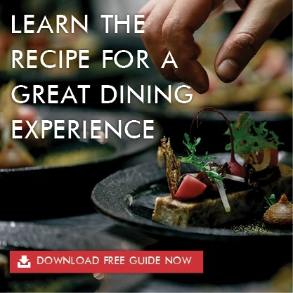 learn the recipe for a great dining experience