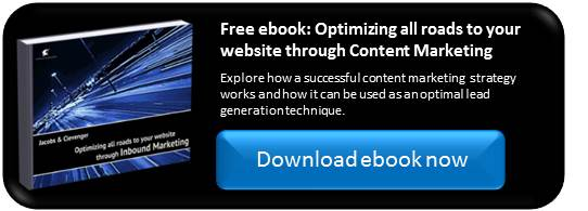 Optimizing all roads to your website through Content Marketing
