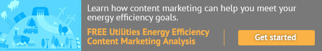 Learn how content marketing can help you meet your energy efficiency goals. Freee Utilities Energy Efficiency Content Marketing Analysis. Get starged.