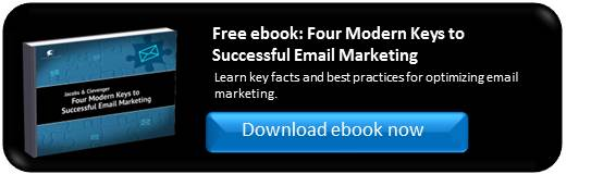 Four Modern Keys to Successful Email Marketing