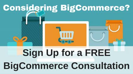 Free BigCommerce Consultation