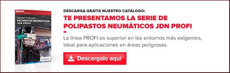 Catálogo PROFI Polipastos neumáticos