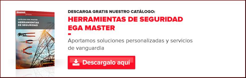 Catálogo herramientas de seguridad de Ega Master