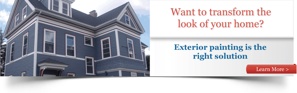 Want to transform the look of your home? Exterior painting is the right solution.