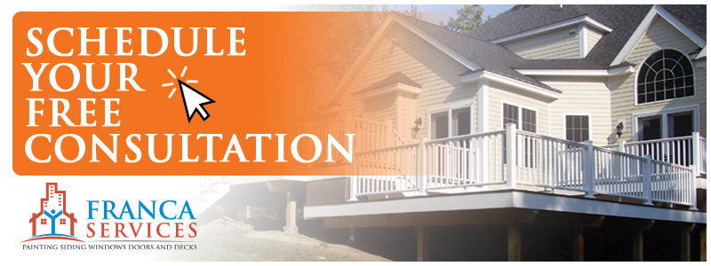 Schedule Your Free Deck Consultation Today. Marlborough MA Local Deck Experts - Franca Services