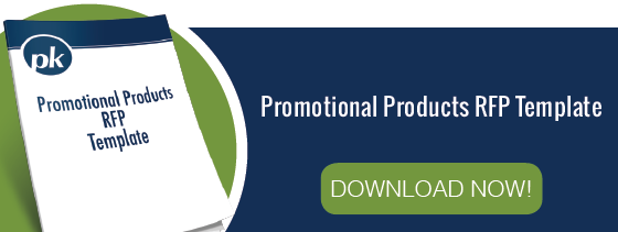 Promotional Products RFP Tempalte