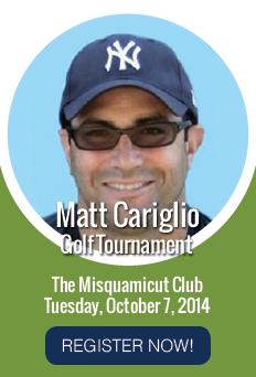 Matt Cariglio Golf Tournament Register Now