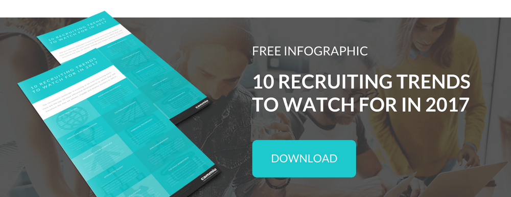 Infographic | 10 recruiting trends to watch for in 2017 | Download