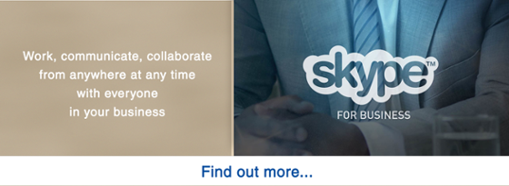 Find out more about Skype for Business