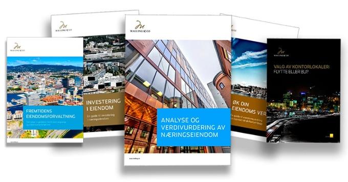 Naviger til Malling & Co sitt digitale kunnskaps-bibliotek