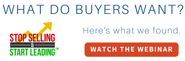 stop selling start leading what buyers want sales experts channel