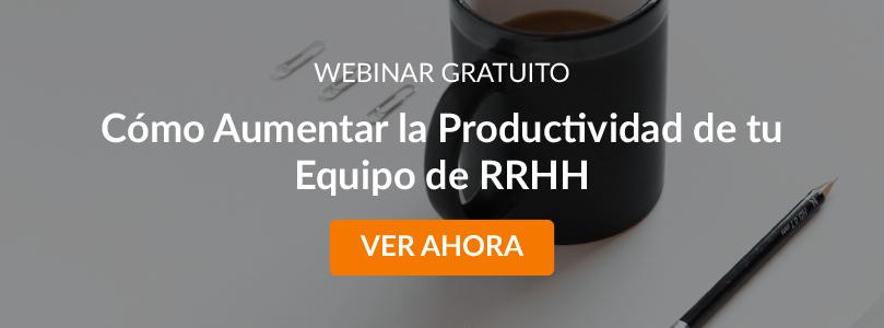Ebook Cómo Aumentar la Productividad de tu Equipo de RRHH