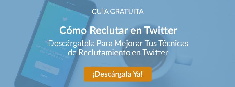 Ebook Twitter + Guía reclutar en redes sociales