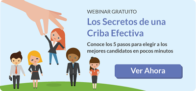 Webinar Secretos Criba Efectiva Desplegable