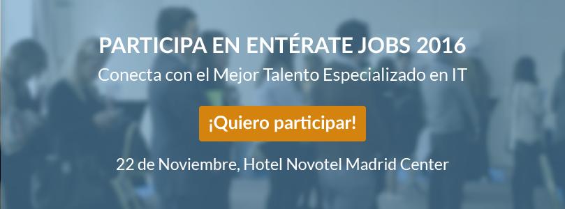 Entérate Jobs Madrid Talento IT