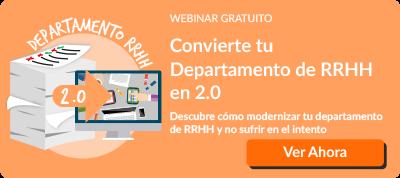 Webinar Convierte tu Departamento de RRHH en 2.0
