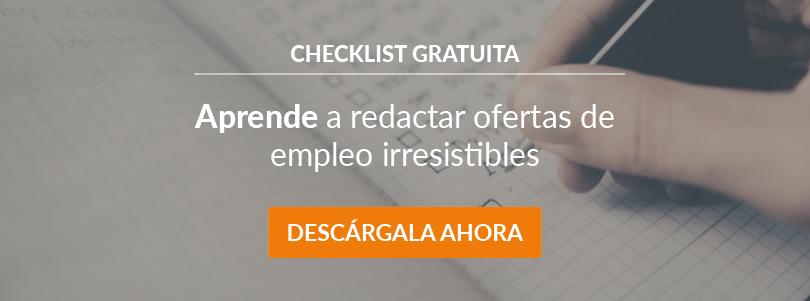 Redactar Ofertas de Empleo