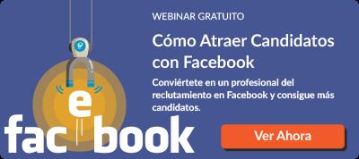 Webinar Cómo Atraer Candidatos con Facebook