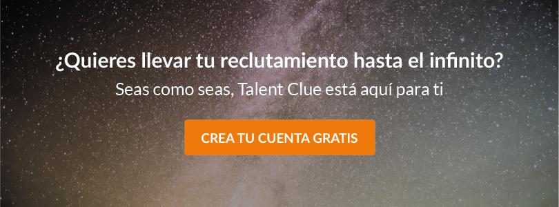 Crea tu Cuenta Gratis Talent Clue