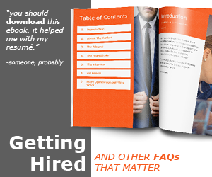 Getting Hired ebook
