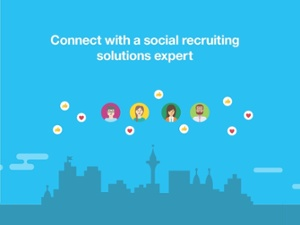 Connect with a social recruiting solutions expert