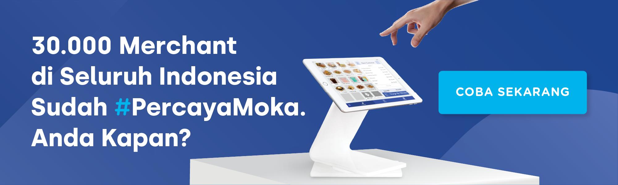 Moka POS, Aplikasi Kasir Andalan Pebisnis di Seluruh Indonesia