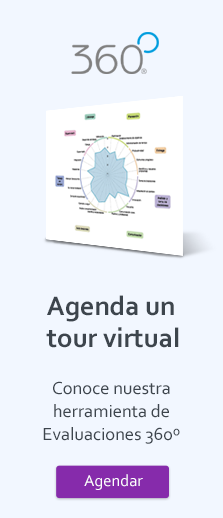 Botón vertical para agendar un Tour Virtual de Herramienta 360º de TalentLab