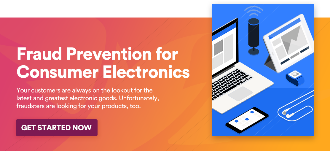 Fraud Prevention for Consumer Electronics