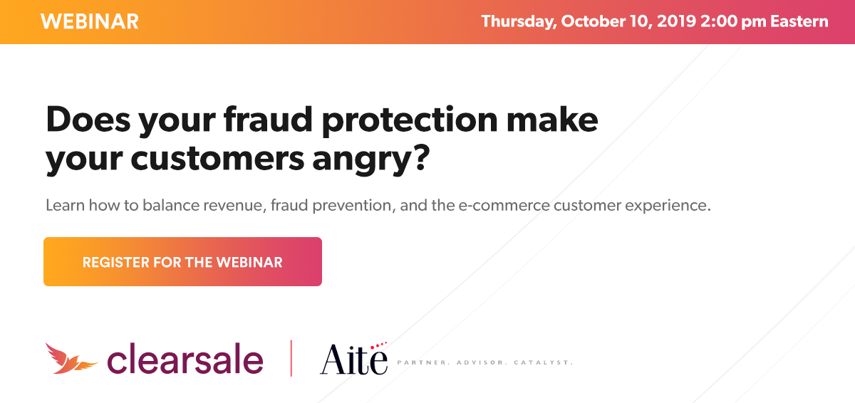Learn how to balance revenue, fraud prevention, and the e-commerce customer experience.