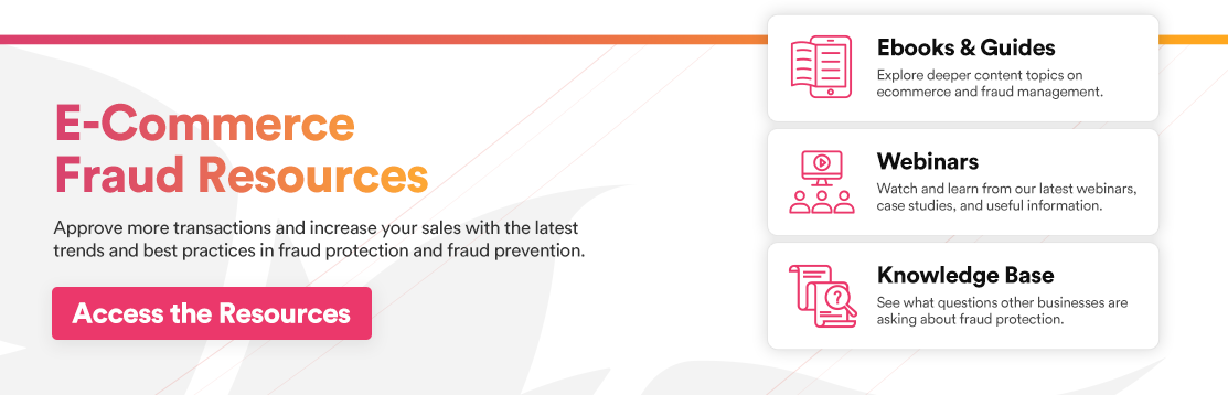 E-Commerce Fraud Resources