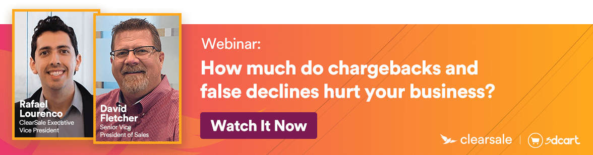 Webinar - How Much do chargebacks and false declines hurt your business?