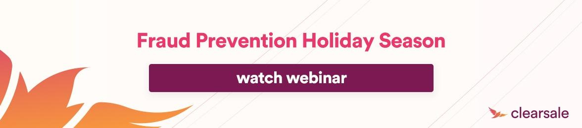 Fraud prevention holiday season