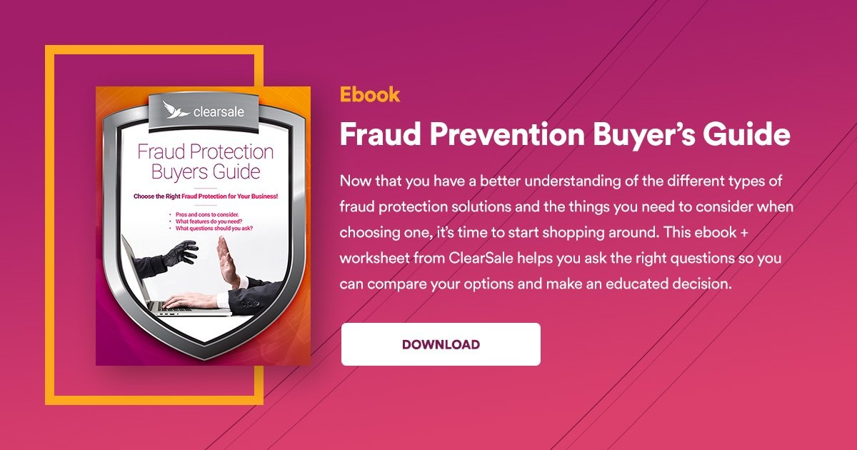 Download Ebook - Fraud Prevention Buyer's Guide