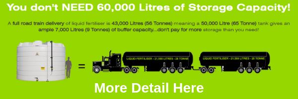 Coerco Liquid Fertiliser Storage Tanks Now with 15 Year Warranty