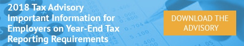 Download the 2014 Tax Advisory Important year-end tax information for employers