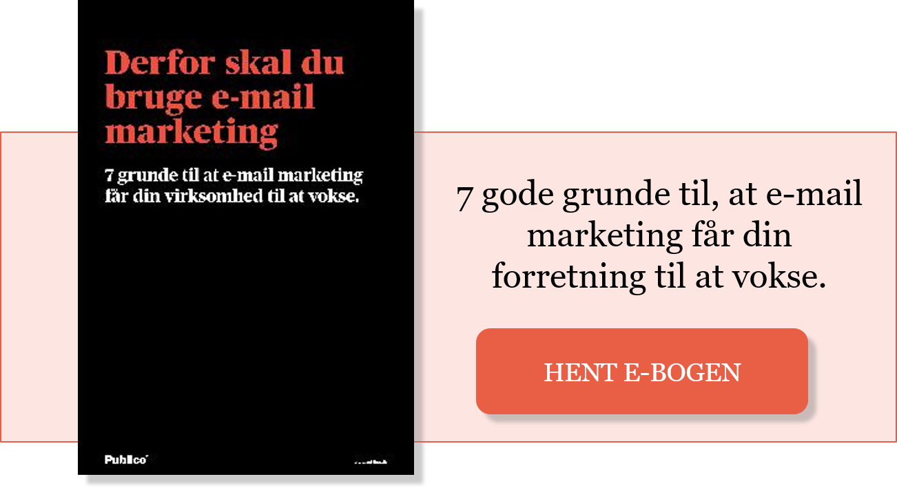 7 gode grunde til, at e-mail marketing får din forretning til at vokse