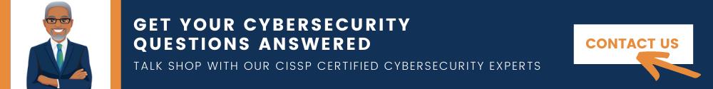 talk to a cissp cybersecurity expert
