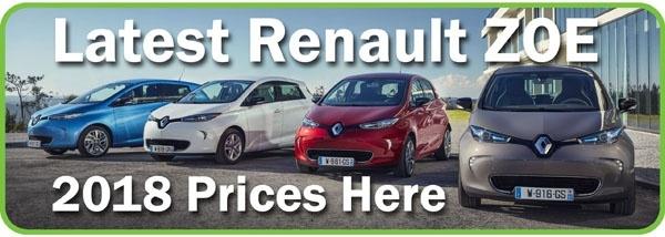 Renault ZOE Prices
