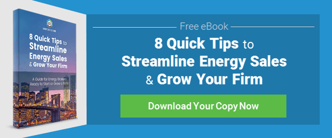8 Quick Tips to Streamline Energy Sales Ebook