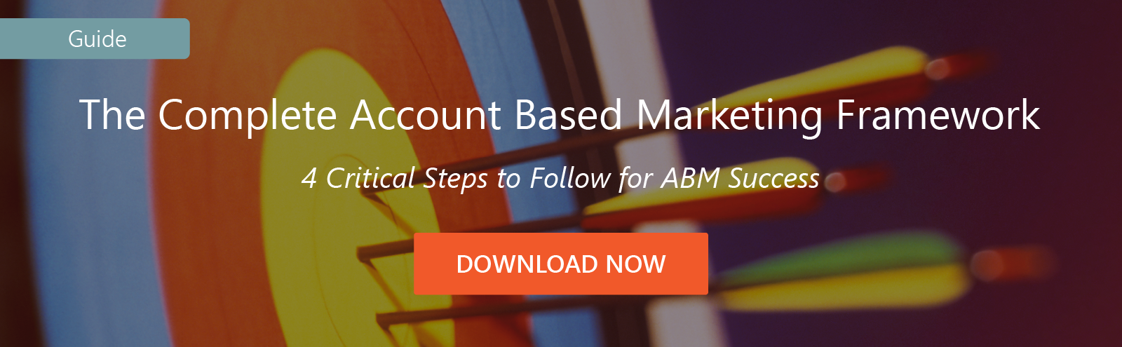 Account Based Marketing framework