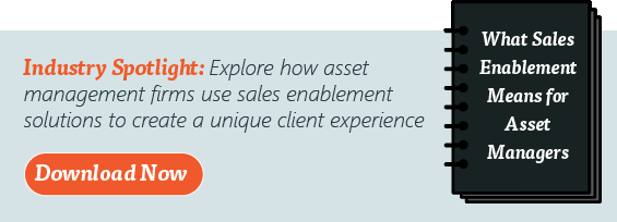 What Does Sales Enablement Mean for Asset Managers?