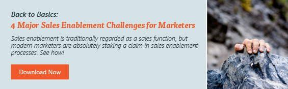 Major Sales Enablement Challenges Faced by Marketers