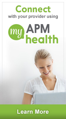 Connect with your provider using myAPMhealth