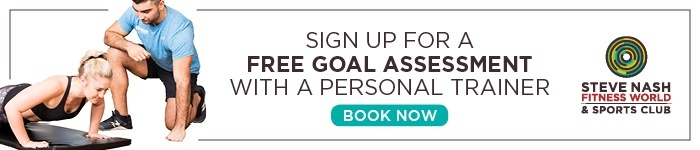 Sign up for a FREE Goal Assessment with a Personal Trainer