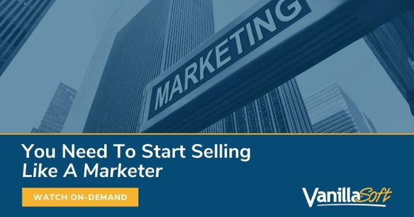sell like a marketer
