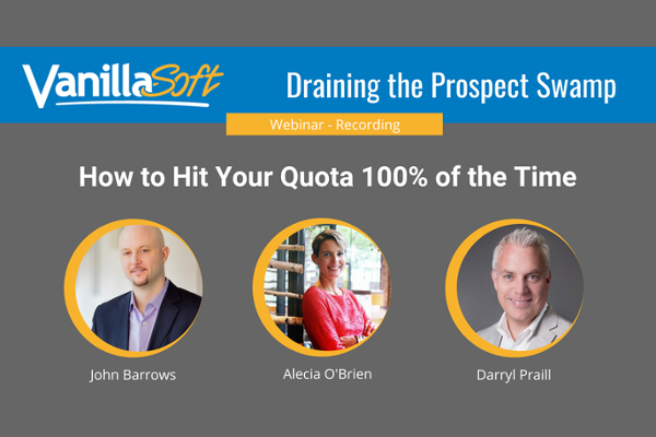 Draining the Prospect Swamp: Hit Quota 100% of the Time Watch Now!